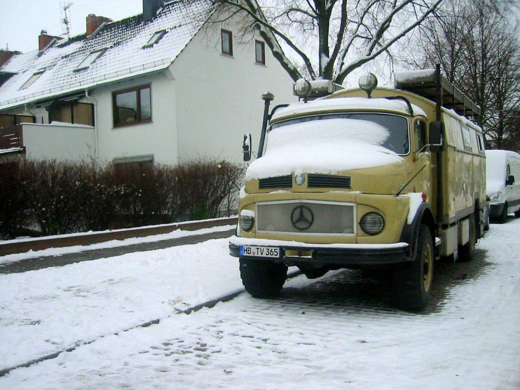 10 Jahre Wagenleben - der erste Winter