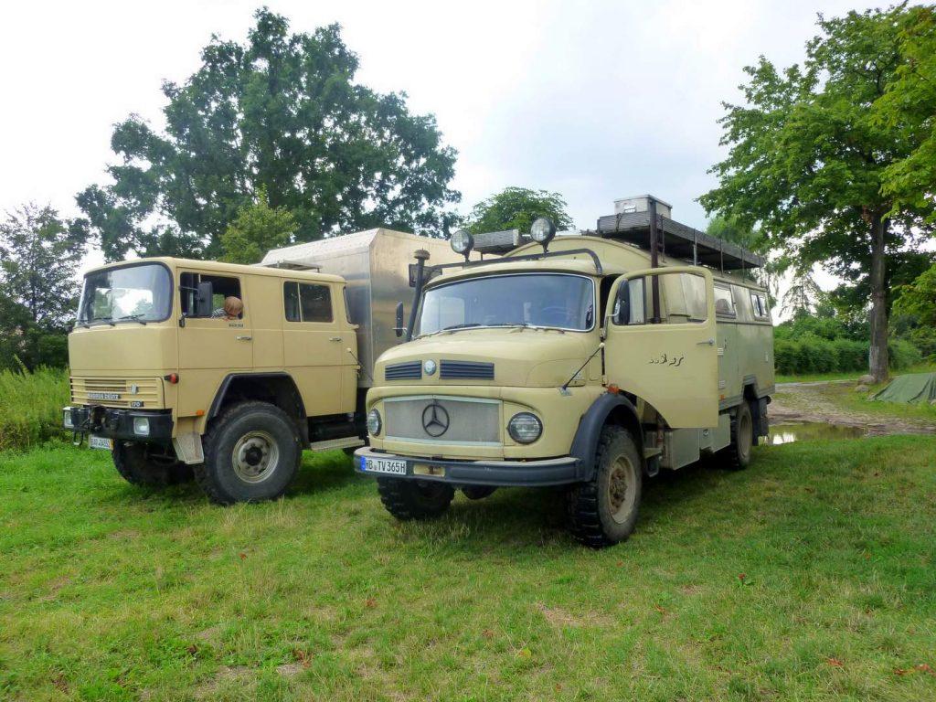 10 Jahre Wagenleben - Sommer in Brandenburg 2013