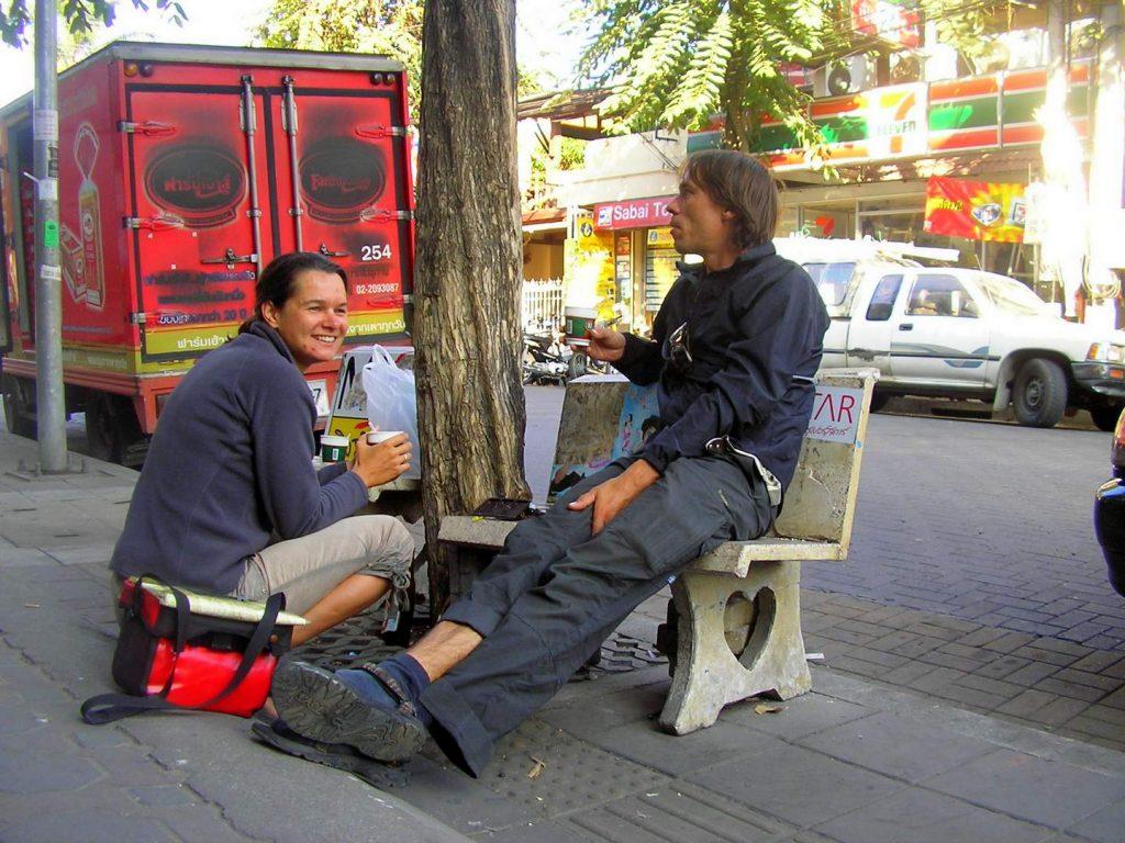 Steffi und Olaf in Thailand