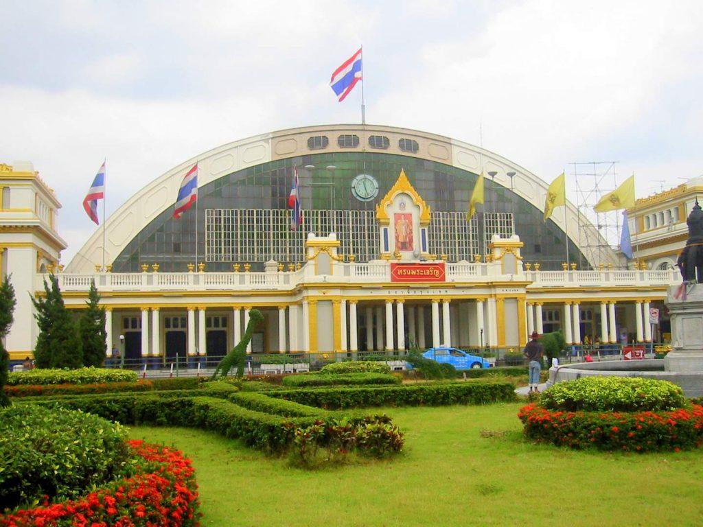 der Hauptbahnhof von Bangkok Hua Lamphong