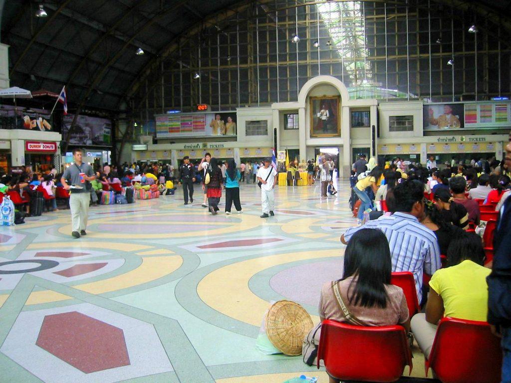 Hua Lamphong: Die Wartehalle