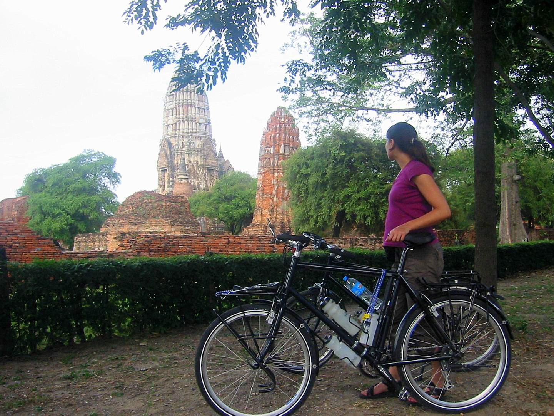 Ayutthaya mit dem Fahrrad