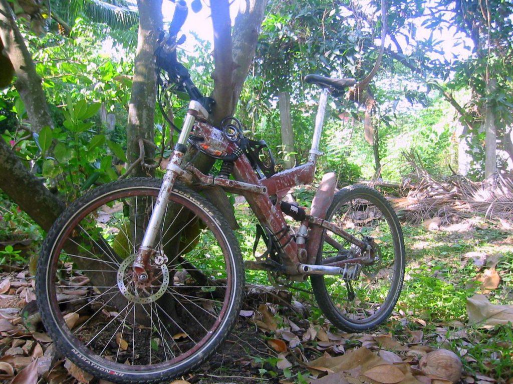 Svens individuelles Fahrrad