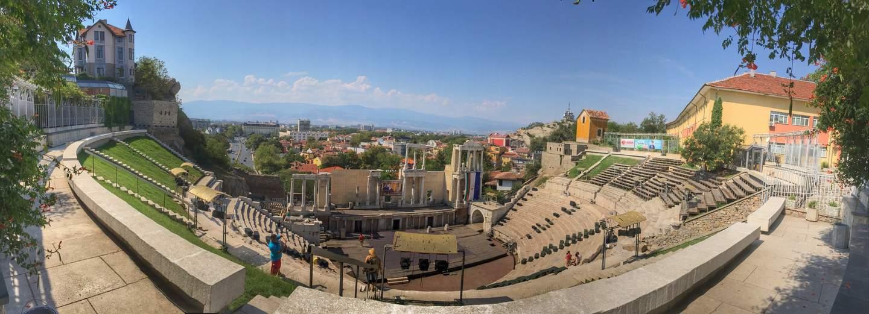 Fahrradtour Bulgarien: Plovdiv