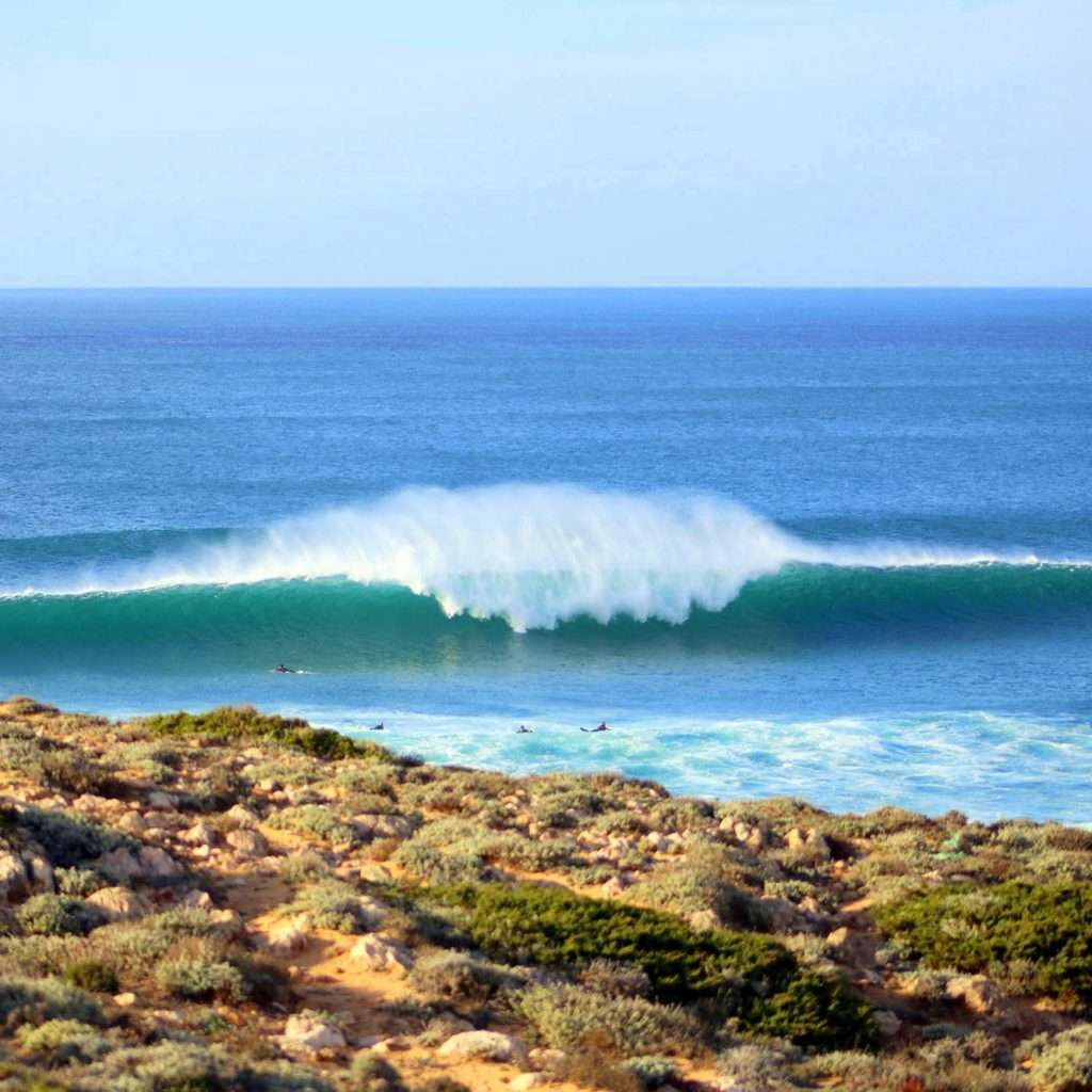 Surfen Portugal: Bordeira