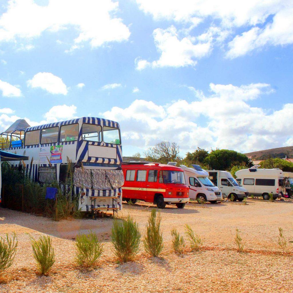 Surfen Portugal: Campingplatz
