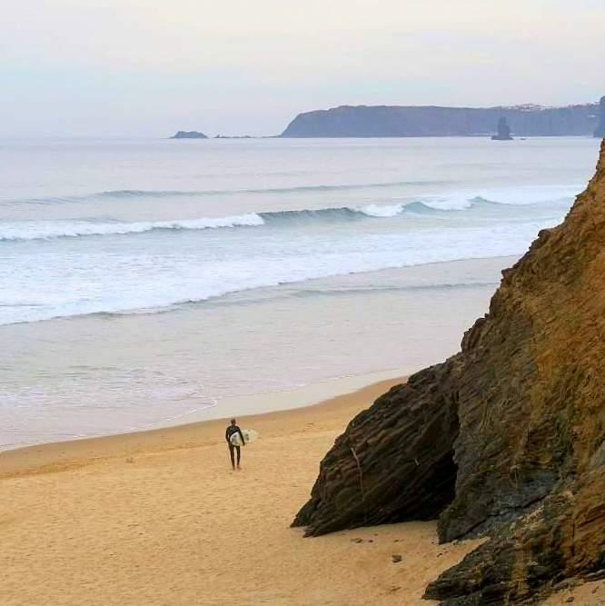 Surfen Portugal: Vale Figueira