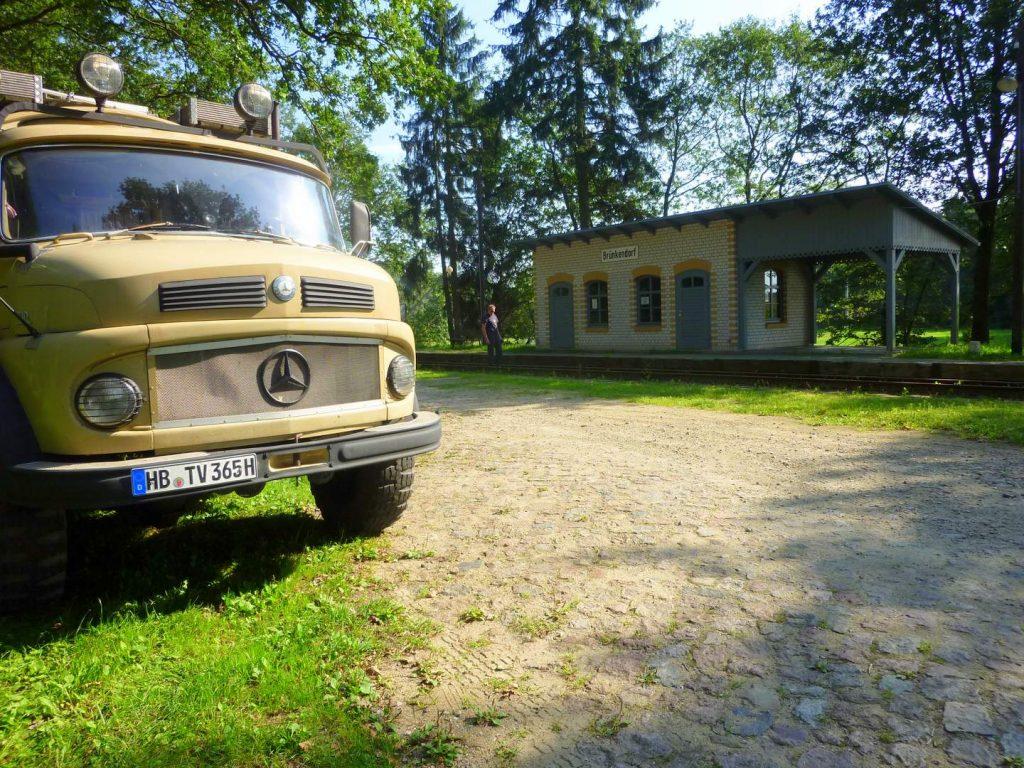 Mit dem Wohnmobil in die Prignitz Wassermühle Wolfshagen Brünkendorf