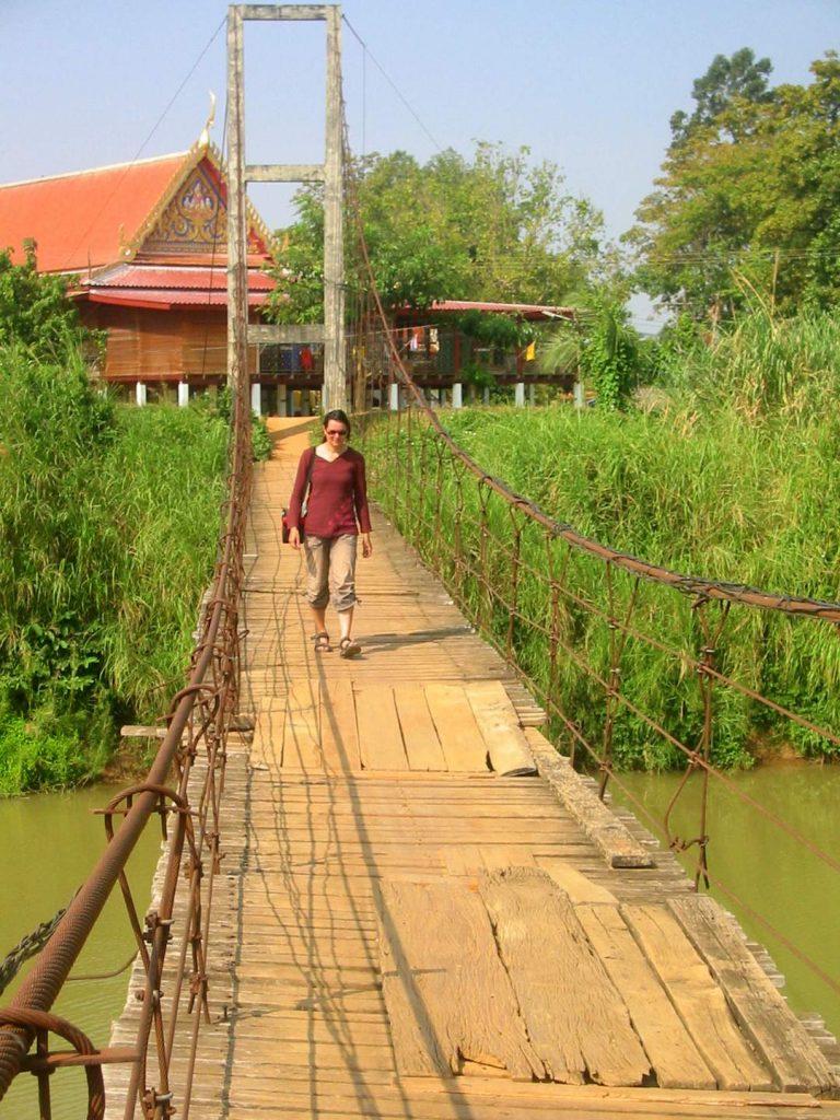 Mit dem Fahrrad nach Sukhothai
