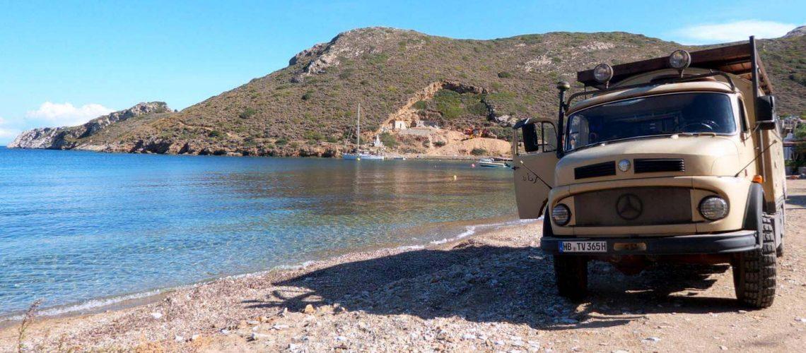 Überwintern in Griechenland mit dem Wohnmobil