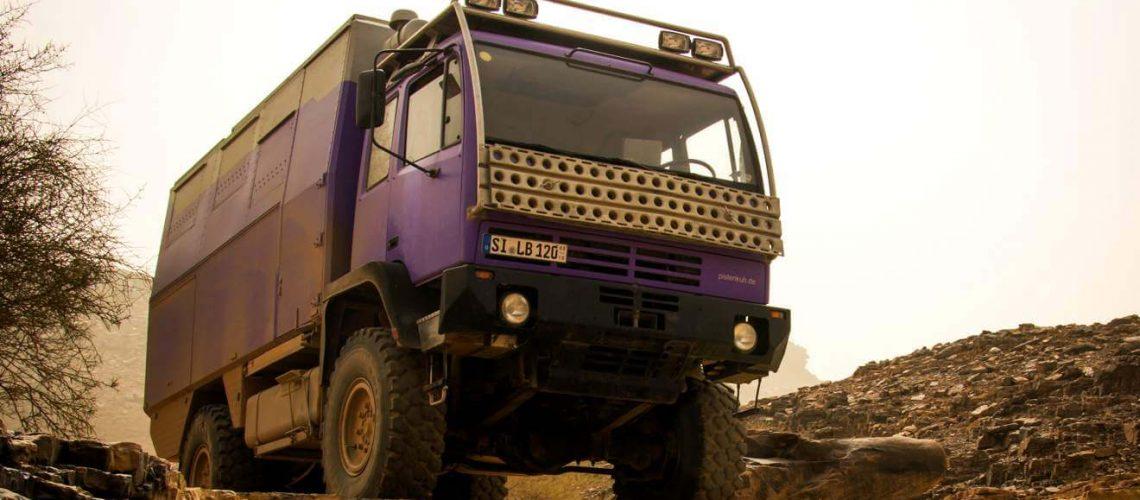 Der Steyr 12M18 als Reisemobil