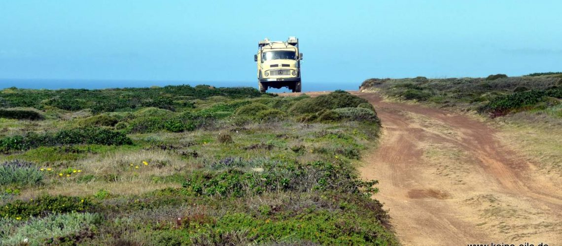 Mit dem Wohnmobil in die Algarve