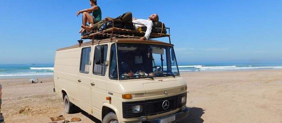 Über Inspiration, Yoga, Backpacking und den Komfort beim Vanlife