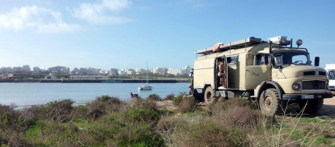 Grüße aus Ferragudo, Algarve, Portugal