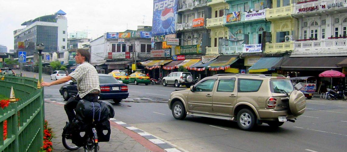 Radreise Thailand: Beginn in Bangkok