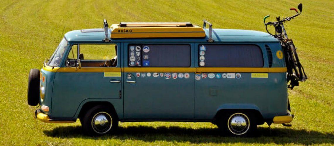 Die Bulli Zeitreise: Im VW-Bus quer durch Deutschland