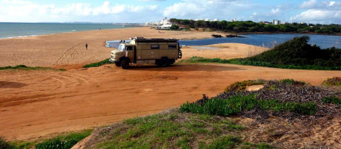 Überwintern im Süden: Quarteira, Algarve