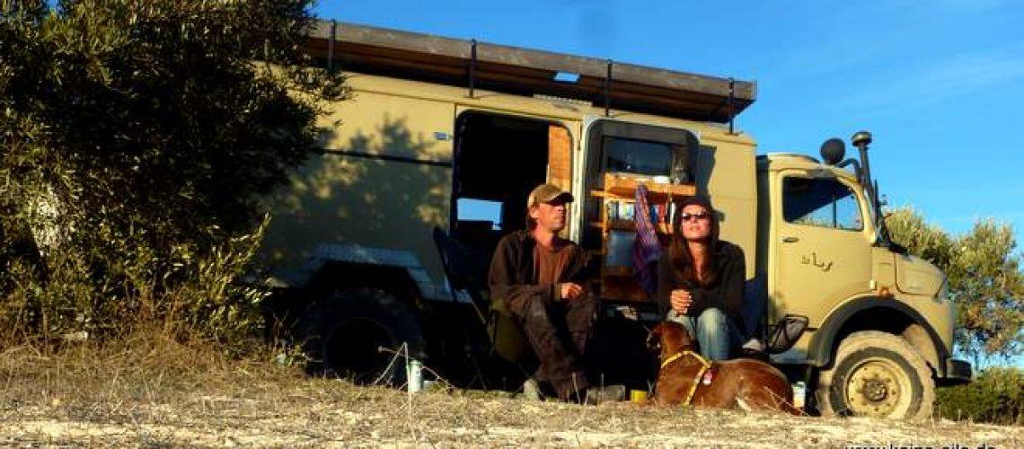 Reisen mit Hund Lucy und Kurzhauber