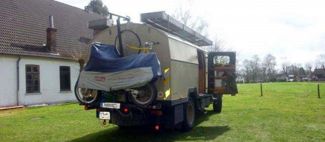 Wohnmobil +Motorrad