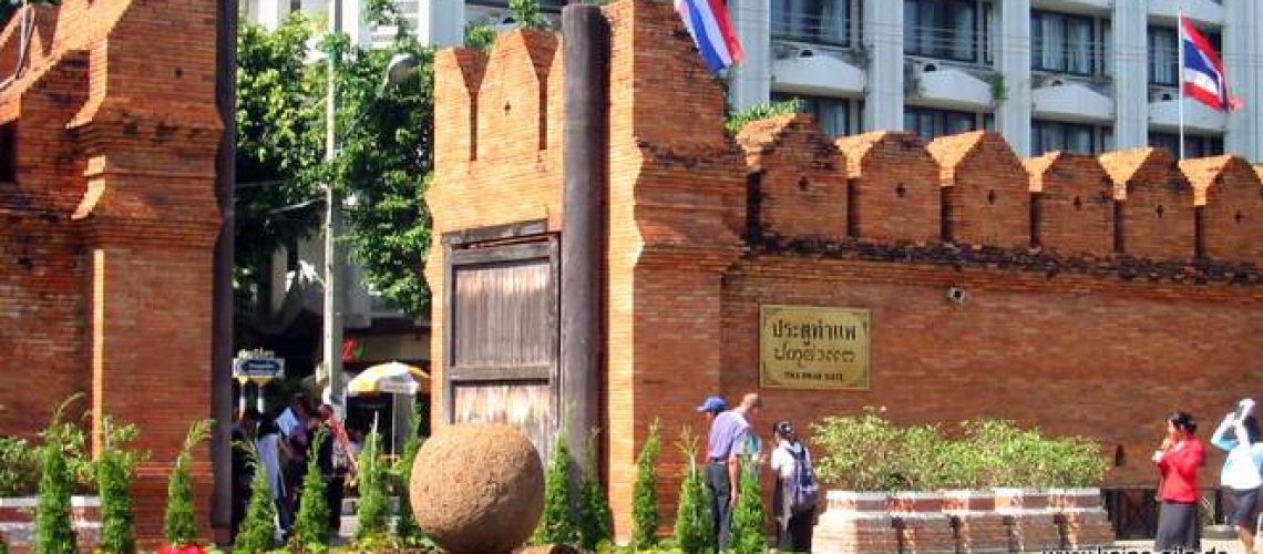 Stadtmauer Chiang Mai