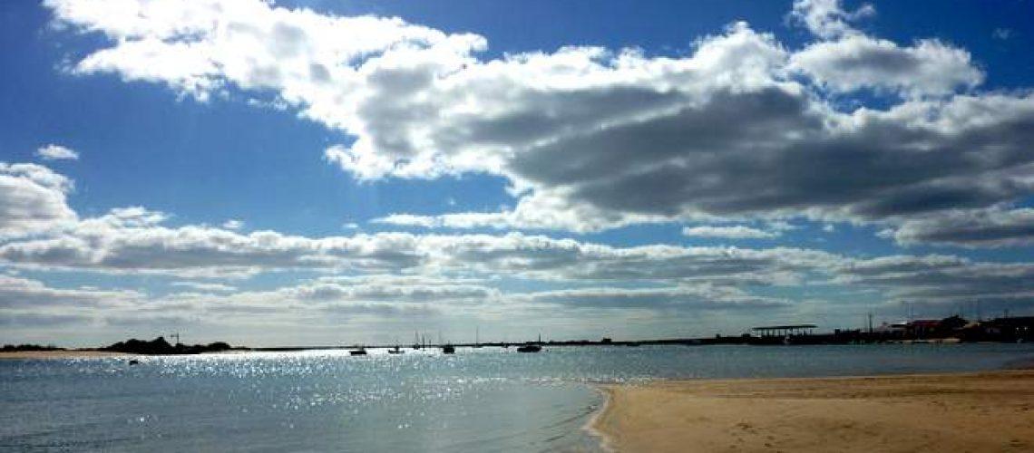 In der Lagune Ria Formosa bei Tavira