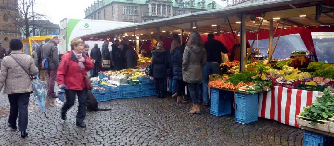 Wochenmarkt in Bremen